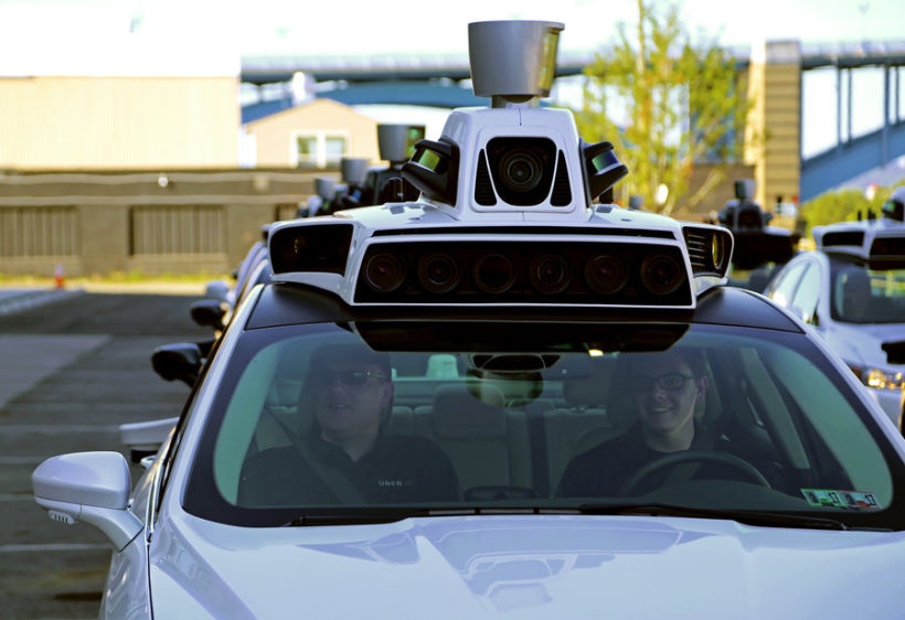 Why self-driving Ubers are rolling around Pittsburgh