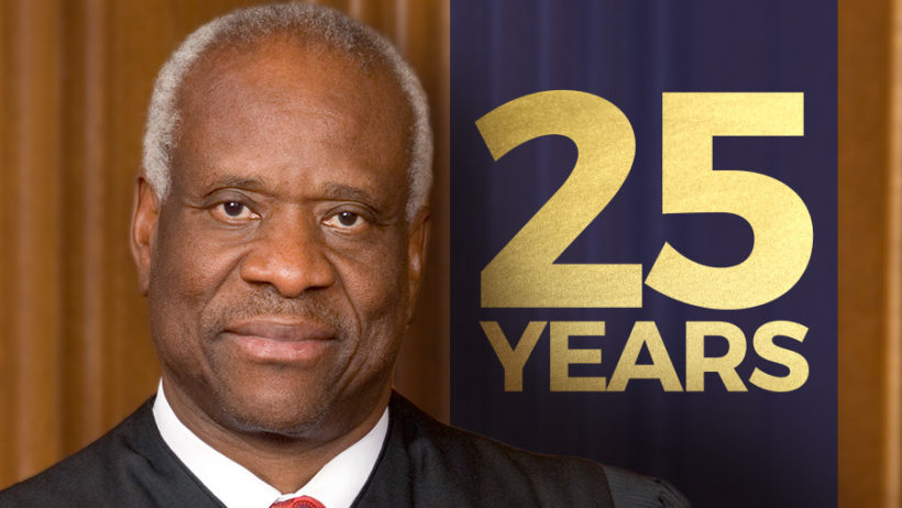 Clarence Thomas' 25th Anniversary