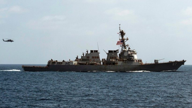 U.S. warship targeted by third missile attack from Yemen