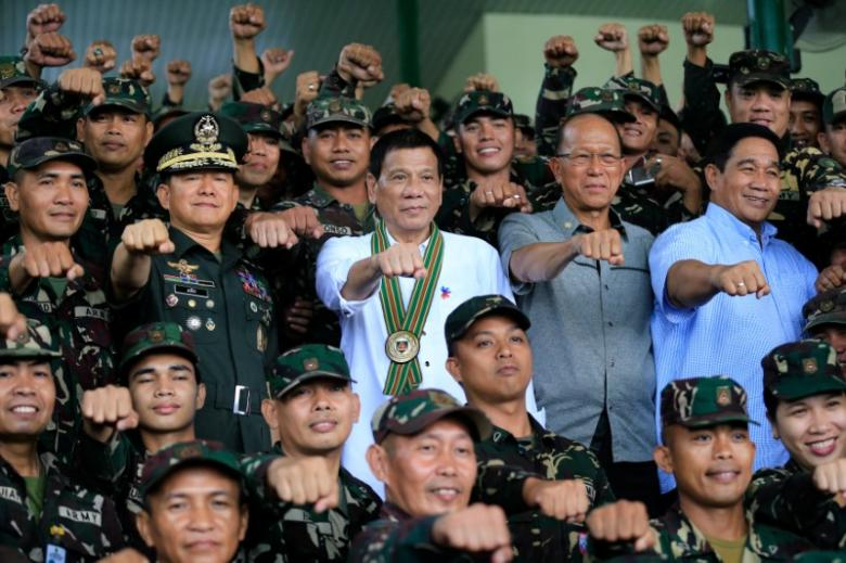 Philippines' President says he'll 'break up' with US