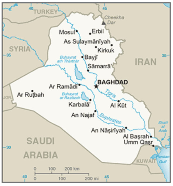 iraq-map-cia-worldfactbook-2016