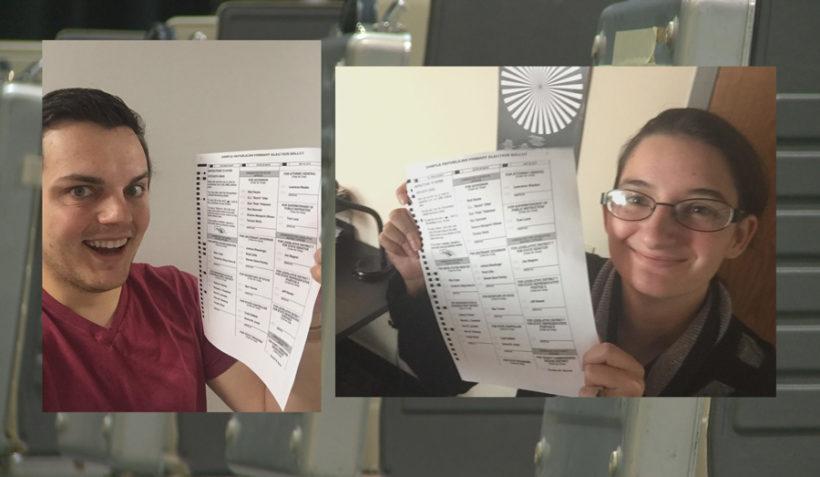 Judge denies request to allow 'ballot selfies'