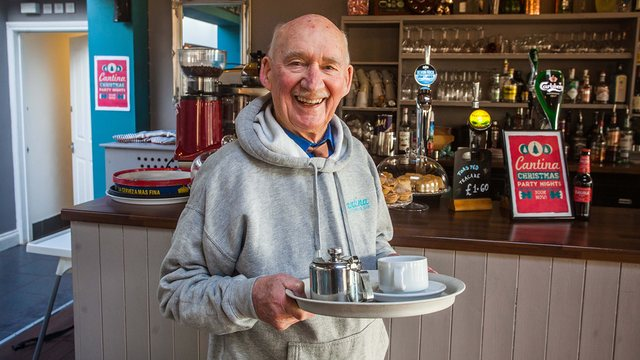 89 year old starts his new job