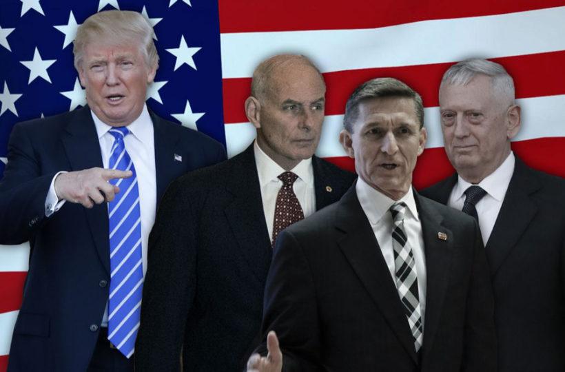 How unusual is Trump's Cabinet of generals?