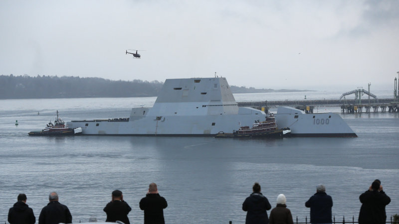 USS Zumwalt breaks down for 2nd time
