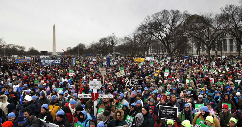 Nets Cover March for Life 37x More Than in 2016