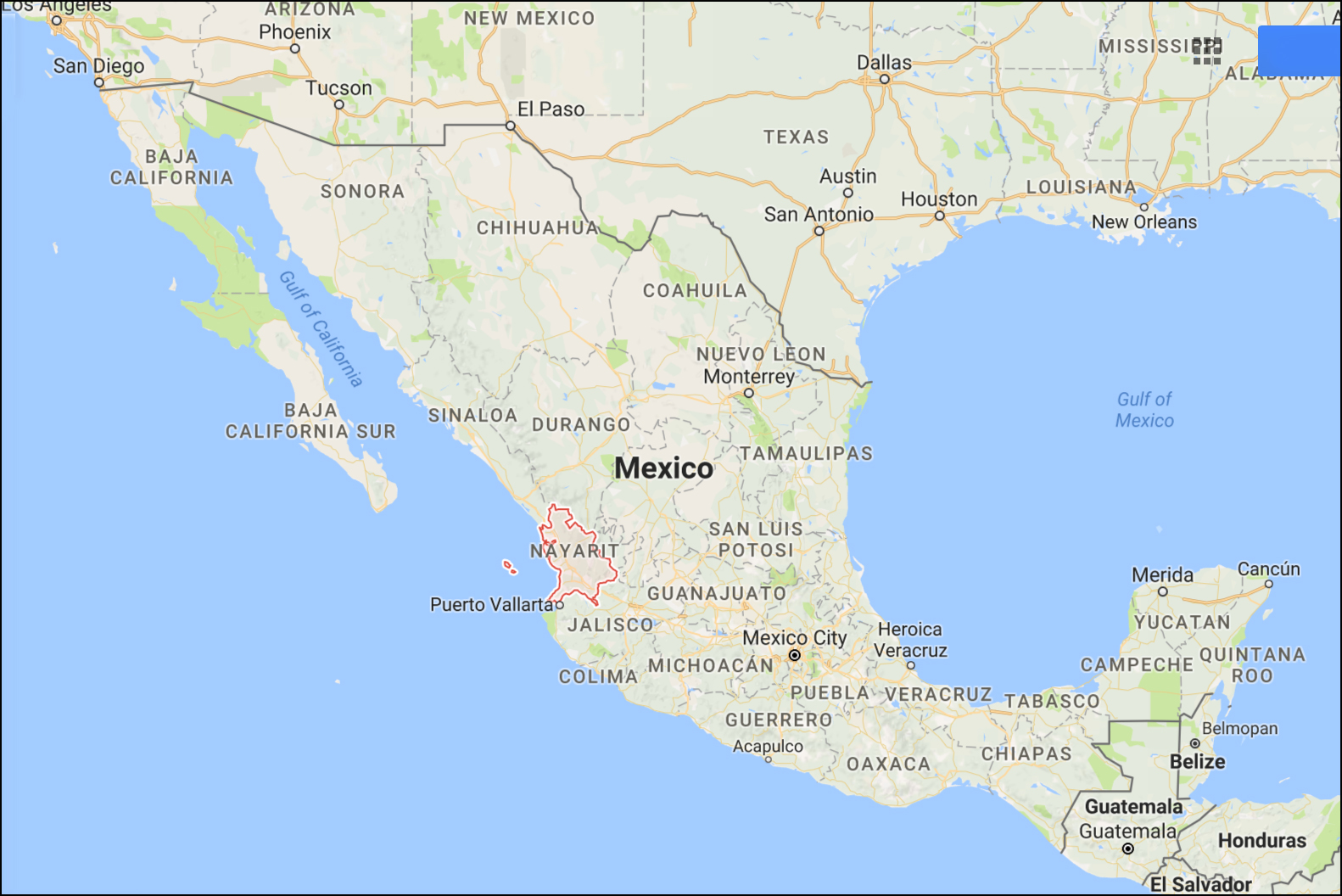 Mexican State Attorney General Arrested In US For Drug Trafficking - Us attorney map