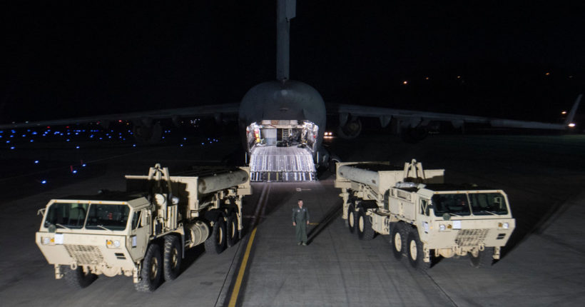 U.S. starts deploying THAAD in South Korea after defiant North's latest test