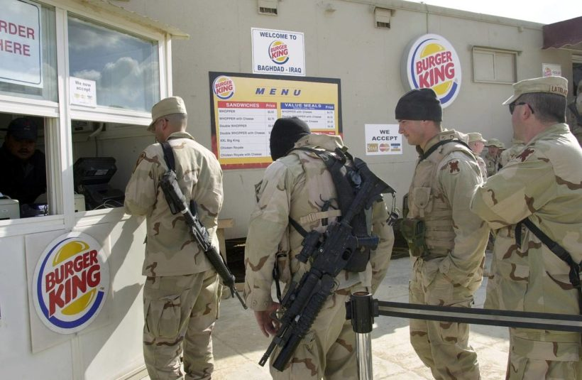 U.S. Soldiers Must Battle On—Without Burger King