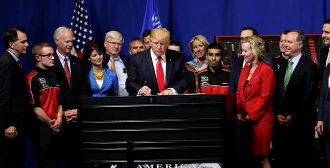 "Trump's ""Buy American, Hire American"""