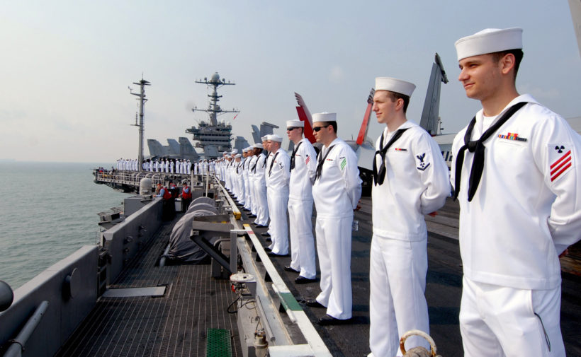Navy Tells Sailors To Leave The E-Cigarette On Shore