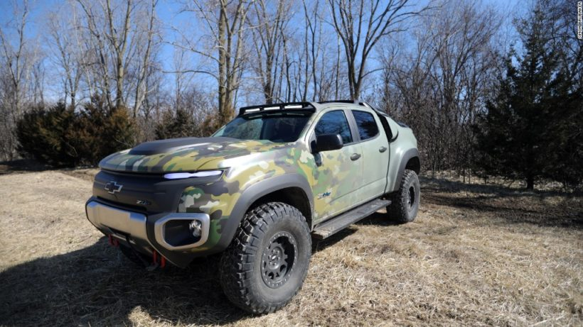 The Future of Stealth Military 4X4