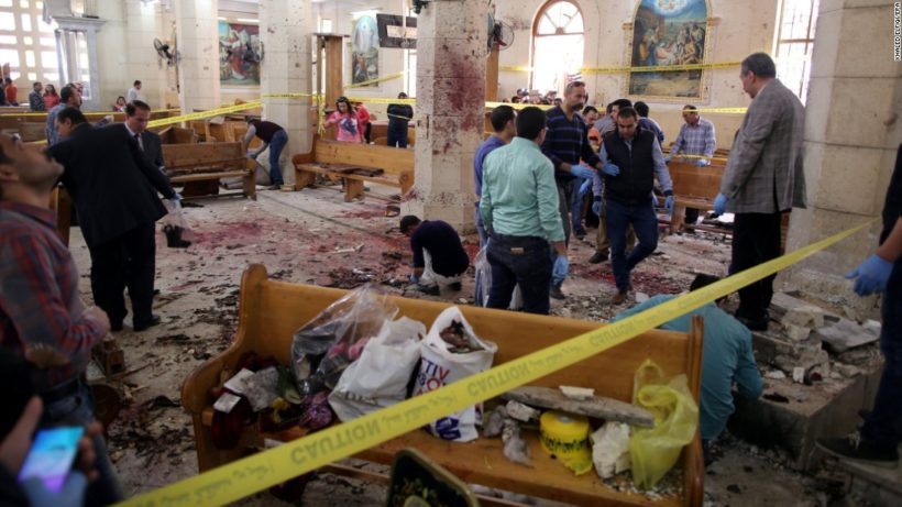 Egypt: Christians killed in Palm Sunday bombings