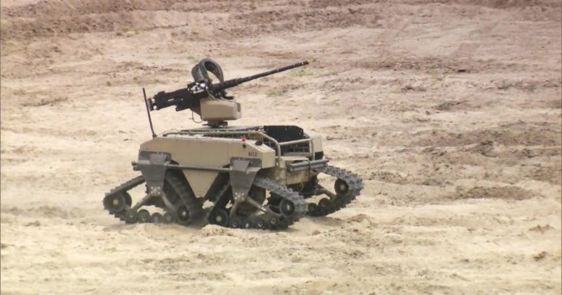 U.S. Marines test high-tech tools