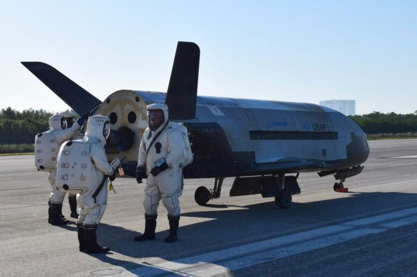 Mysterious X-37B plane lands after secret two-year mission