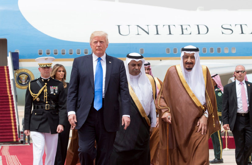 Trump exhorts leaders from Muslim countries to confront terrorism