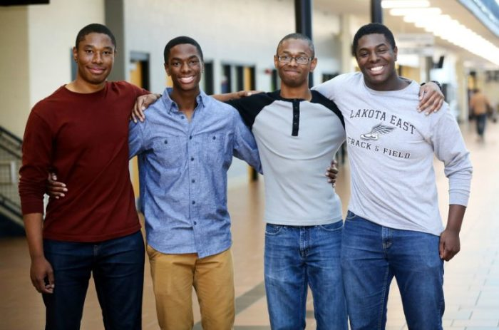 Quadruplet brothers pick Yale over all other Ivies