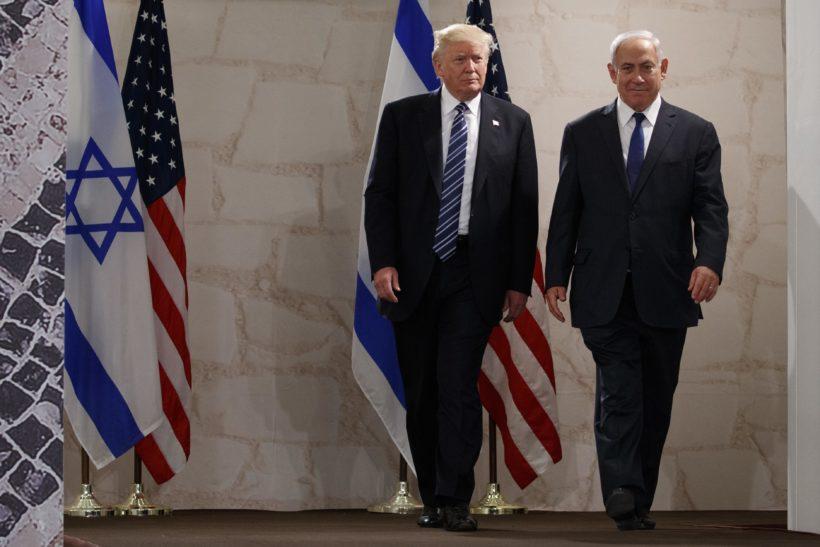 Trump's speech to Israel in Jerusalem