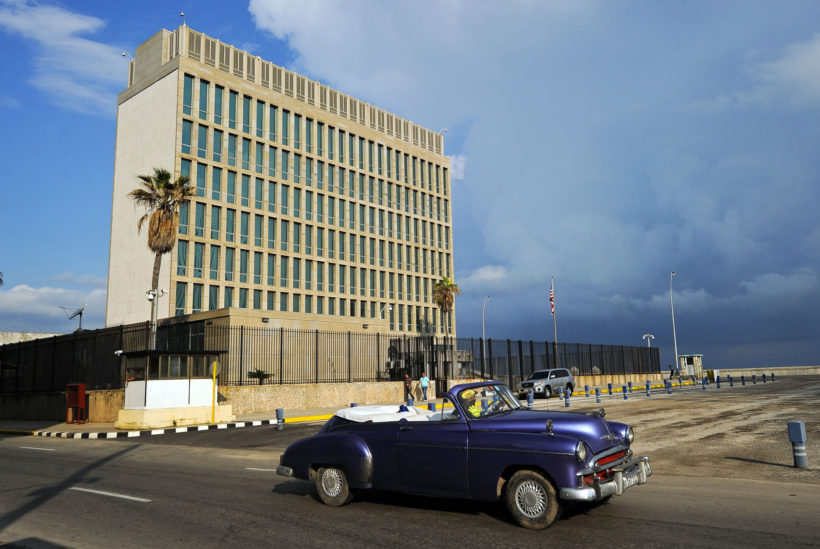 "Top U.S. security official targeted in mysterious Cuba embassy ""health attacks"""