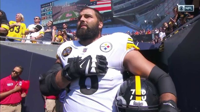Former Army Ranger Is Only Steelers Player To Stand For National Anthem