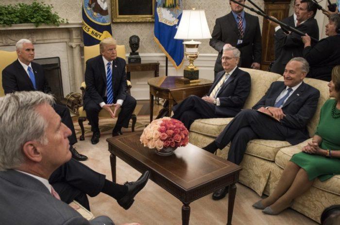 Trump's bipartisan politics only surprising because of Obama