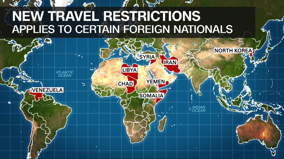 New travel ban to include North Korea, Venezuela and Chad