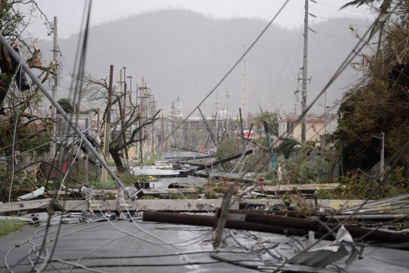 Power crews scramble to Puerto Rico after Maria smashes its grid
