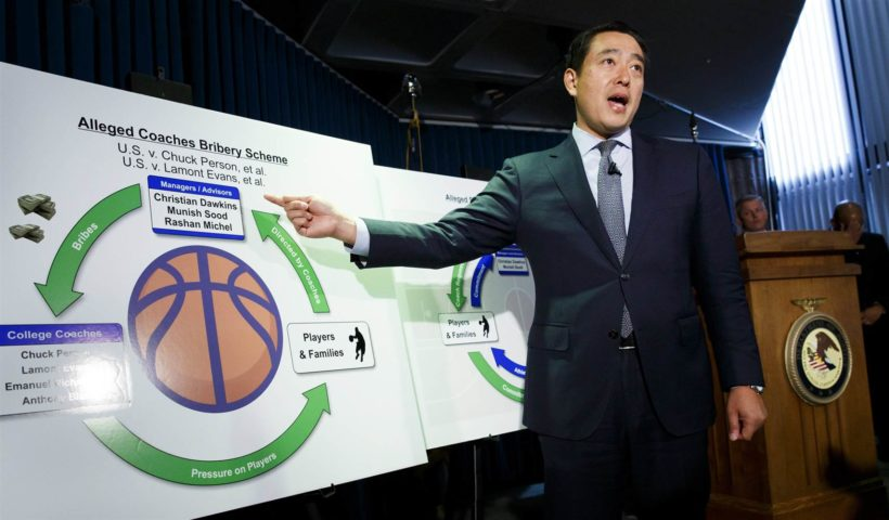 4 NCAA coaches face federal charges over alleged college basketball fraud scheme