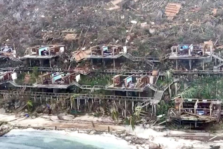 British Virgin Islands Hurricane Pictures
