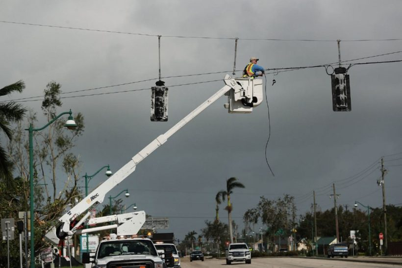 Irma knocks out power to about 7.3 million