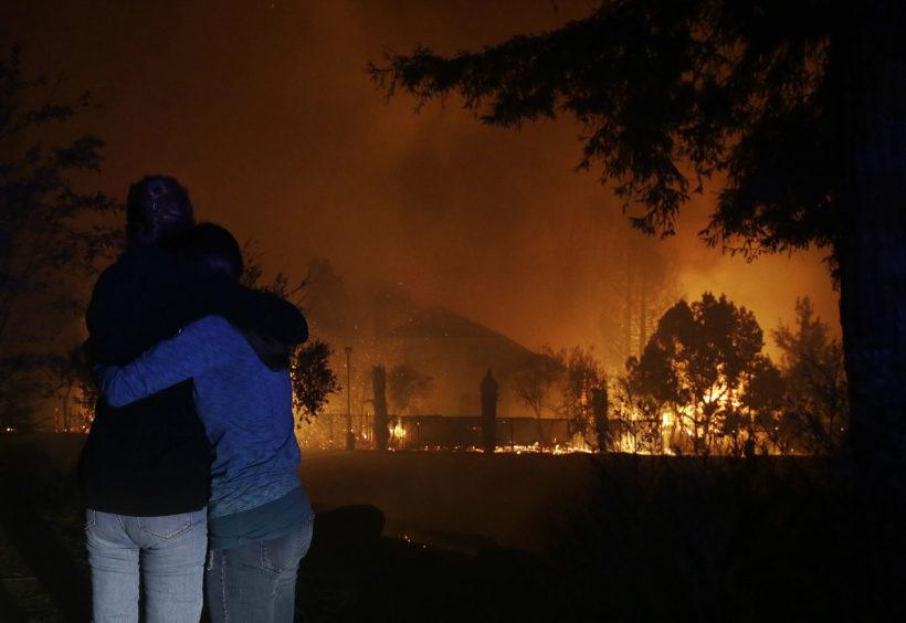 Northern California firestorm, among worst in state's history