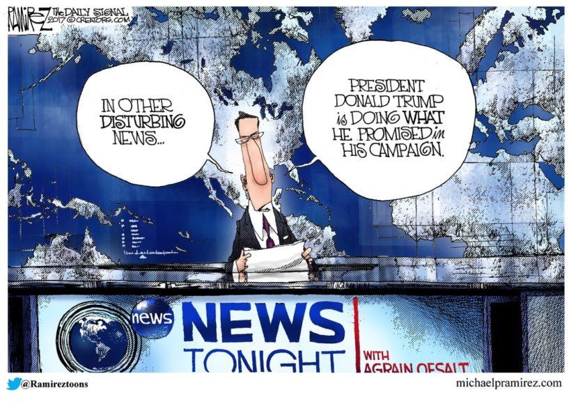 September TV Coverage Of Trump