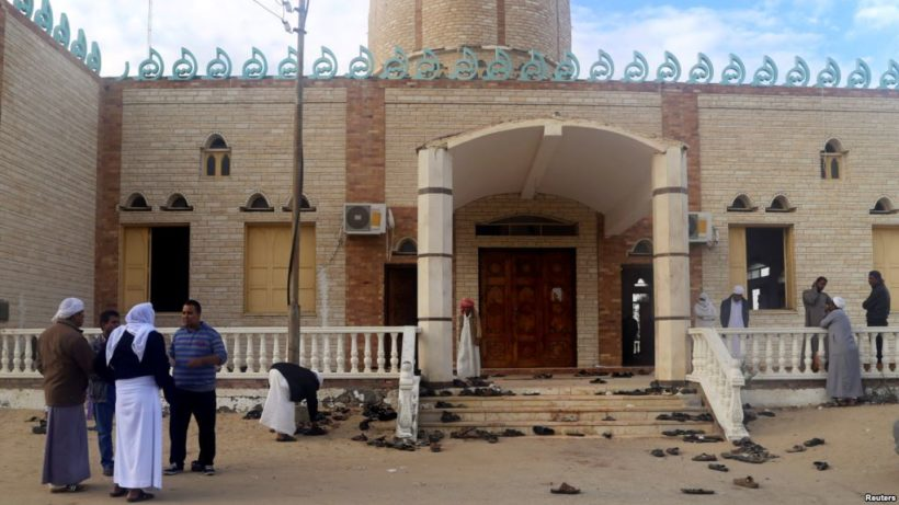 Tuesday's World #3 – EGYPT: Air strikes target terrorists after mosque attack kills 305