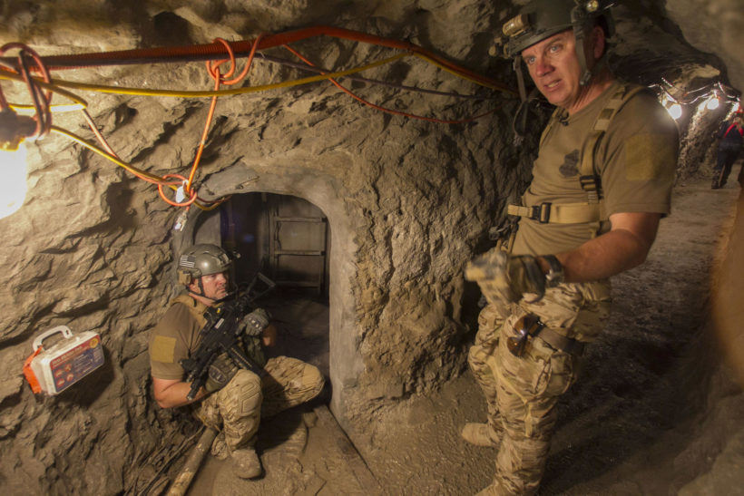 Border Patrol's 'tunnel rats' stalk drug smugglers in an underground game of hide-and-seek