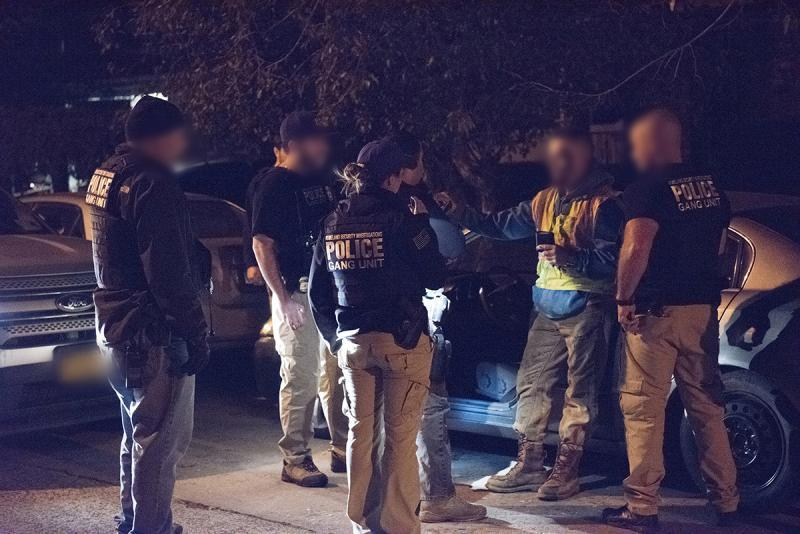 Hundreds of MS-13 gang members arrested in 'Operation Raging Bull'