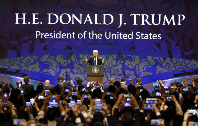 Tuesday's World #2 – Vietnam – Trump speaks at APEC summit