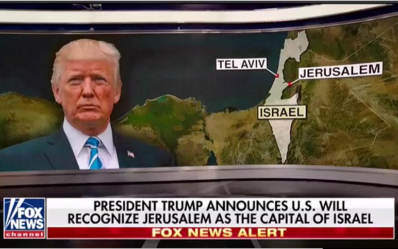 Trump to uphold law moving U.S. embassy to Jerusalem