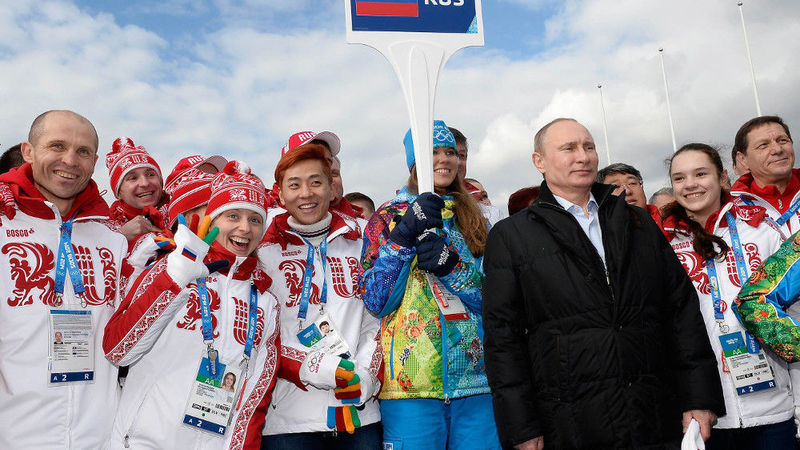 Tuesday's World #1 – RUSSIA's Olympic team banned from Winter Olympics over doping scandal