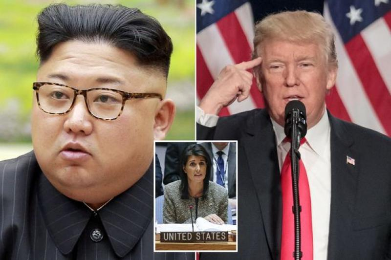 "US: North Korean regime ""will be utterly destroyed"" if war comes"