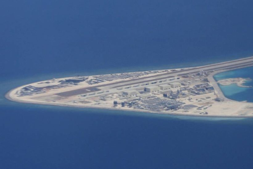 Tuesday's World #3 – CHINA: China continues South China Sea buildup