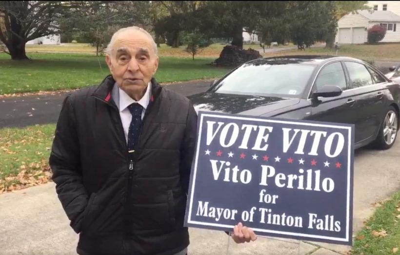 93-year-old campaigns door-to-door