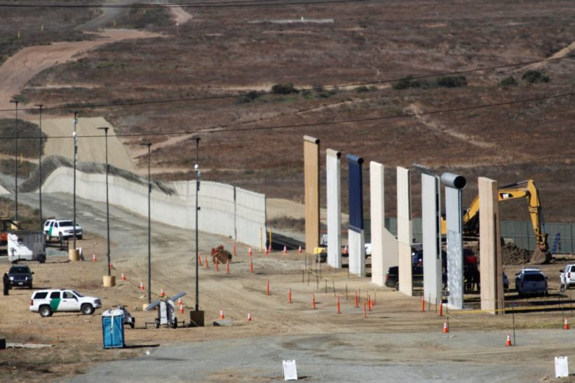 Trump's border wall prototypes pass tests by military special forces