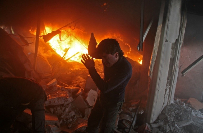 U.S. airstrike kills 100 Syrian troops after unprovoked attack on base