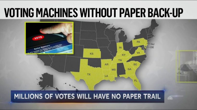 PA to require voting machines with paper backup