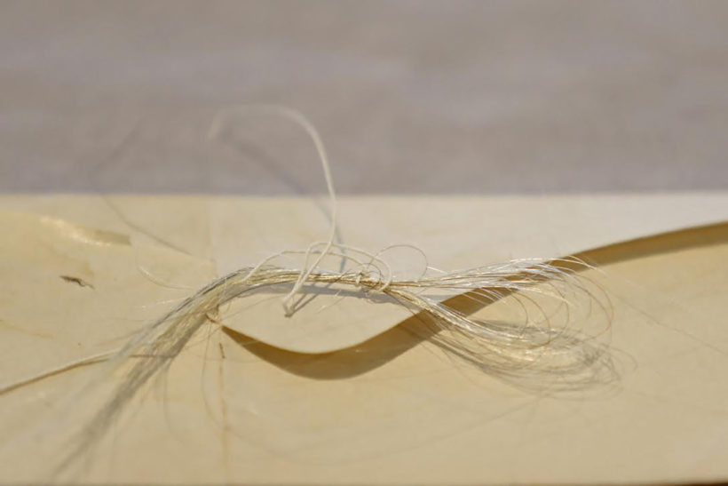 Lock of Washington's Hair Found in 18th-Century Almanac