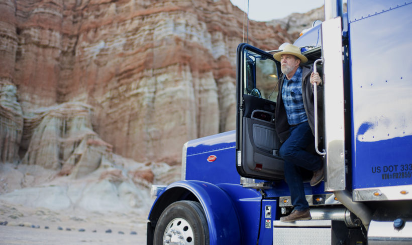 Self-driving Uber trucks hauling cargo across Arizona
