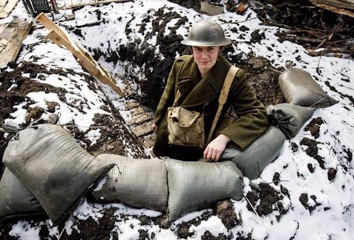 Student spent 24 hours in a trench for school project
