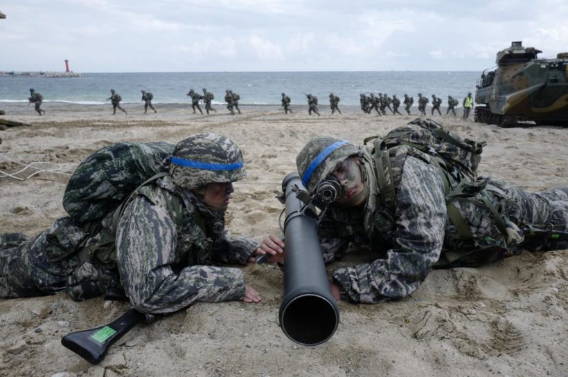 Tuesday's World #1: South Korea, U.S. begin massive military drill