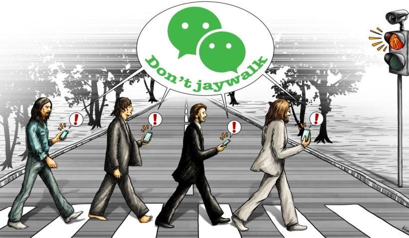 Tuesday's World #3: Big Brother targets jaywalkers in China