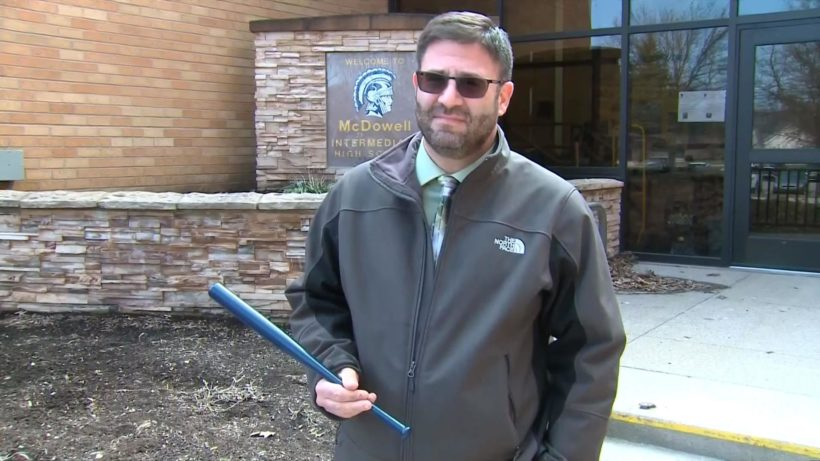School District Arms Teachers with Tiny Baseball Bats